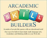 Arcademic Skills Builder - Games